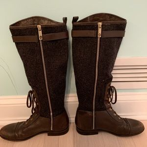 Tory Burch Brent Lace Up Boots